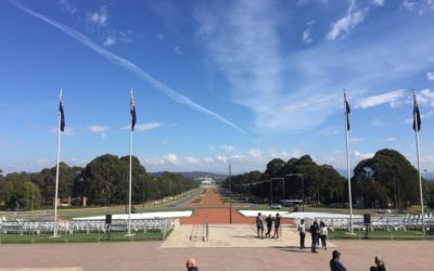 Day 19 – 19th April Canberra